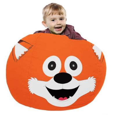Felix The Fox Animal Bean Bag,RUcomfy beanbags,Discount codes,sensory room beanbag,beanbag,large bean bags,extra large bean bags,floor cushions,floor beanbags,bean bags,cheap beanbags,sensory cushion,rompa cushions,rompa toys,roma sensory,bean bag Bazaar Bag